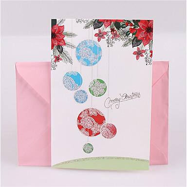 Fold Side Zaproszenia ślubne 1 - Zaproszenia Fairytale Theme Motyw świąteczny Embossed Paper Błyszczący Blask