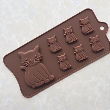 Narzędzia do pieczenia Silicon Rubber / żel krzemionkowy Narzędzie do pieczenia / Powierzchnia nieprzywierająca / DIY Chleb / Lód / dla czekolady Formy Ciasta 1szt