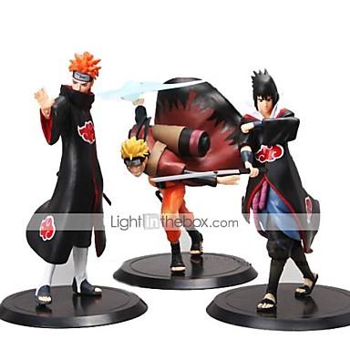 Figurki Anime Zainspirowany przez Naruto Madara Uchiha Polichlorek winylu 19-16 cm CM Klocki Lalka Zabawka