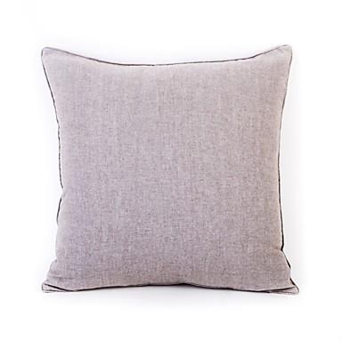 1 szt Bawełna Pokrowiec na poduszkę, Solidne kolory
