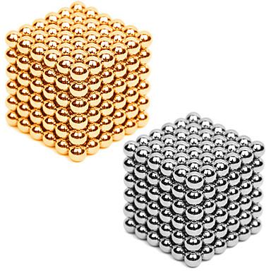 216*2 pcs 3mm Magnetspielsachen Magnetische Bälle / Bausteine / Puzzle Würfel Metalic / Magnet Unisex Erwachsene Geschenk