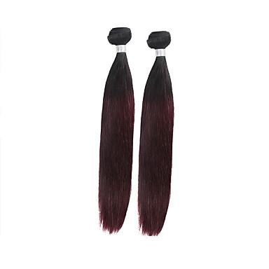 2 חבילות שיער ברזיאלי Body Wave שיער ראמי Ombre שוזרת שיער אנושי תוספות שיער אדם
