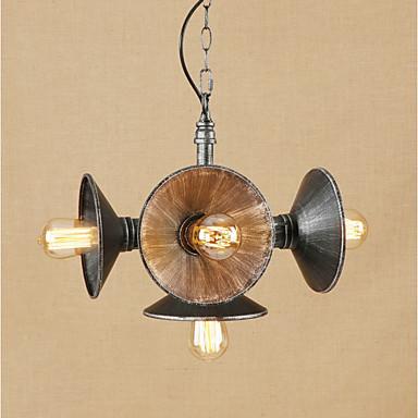 5 - אור מנורות תלויות Ambient Light 110-120V / 220-240V נורה אינה כלולה / 10-15㎡ / VDE / E26 / E27