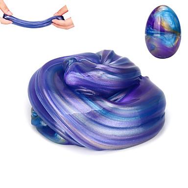 hesapli Oyuncaklar ve Oyunlar-Slime Plastisin Galaksi Yıldızlı Gökyüzü Yumurta Stres ve Anksiyete Rölyef Yeni Dizayn Eğlence Çocuklar için Yetişkin Genç Erkek Genç Kız Oyuncaklar Hediye 1 pcs / El-yapımı