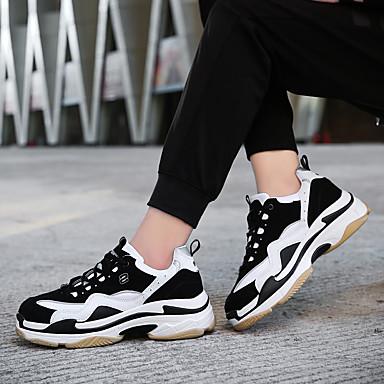 06532760 Pied Polyuréthane Chaussures Bout Course Confort Printemps Automne d'Athlétisme Plat à Noir fermé Chaussures Talon Femme zUTxqZnwBx