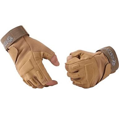 כפפות ספורט/ פעילות לביש / נושם / מונע החלקה בלי אצבעות ניילון פעילות חוץ / ספורט רב פעילותי / רכיבה על אופניים / אופנייים יוניסקס