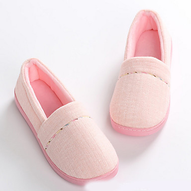 cheap Slippers-Women's Slippers House Slippers Comfort Polyester Shoes