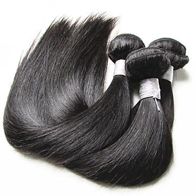 שיער בתולי ישר שיער ברזיאלי 300 g 12 חודשים יומי
