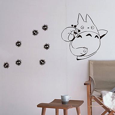 מדבקות קיר מדבקות קיר מטוס מדבקות קיר דקורטיביות, ויניל קישוט הבית מדבקות קיר קיר חלון