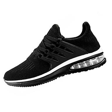Hombre Zapatos Punto Otoño Confort Zapatillas de Atletismo Running / Paseo Negro / Gris / Marrón UukKGN7