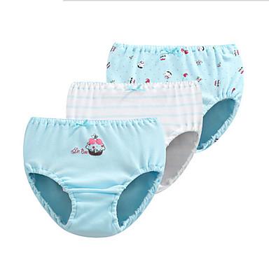 170c1e9e2 ملابس داخلية و جوارب قطن كارتون بسيط للفتيات أطفال 3