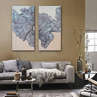 הדפסת בד מודרני, שני פנלים בַּד אנכי דפוס דקור קיר קישוט הבית