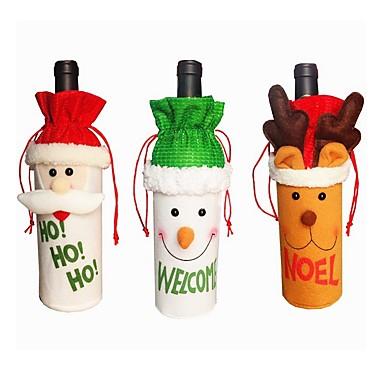 3pcs Christmas קישוטים לחג המולד, קישוטים לחג 26*13