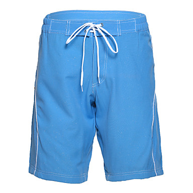 Men's Polyester Blue Shinning Surf Beach Short