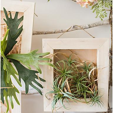 פרחים מלאכותיים 0 ענף סגנון מודרני צמחים פרחים לקיר