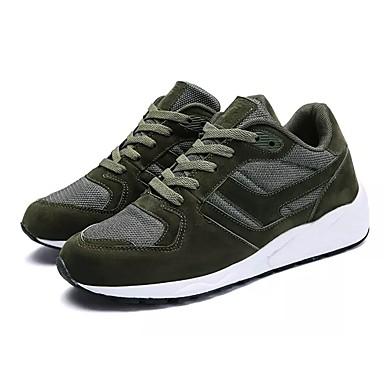בגדי ריקוד גברים גומי סתיו / חורף נוחות נעלי אתלטיקה אפור / ירוק / כחול
