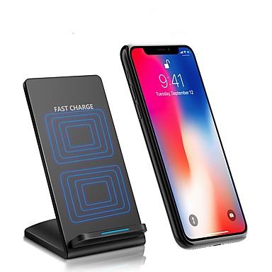 מטען אלחוטי מטען USB USB מטען אלחוטי / התאמת זרם אוטומטית / הטענה מהירה 1חיבורUSB 2 A DC 9V ל iPhone 8 Plus / iPhone 8 / S8 Plus