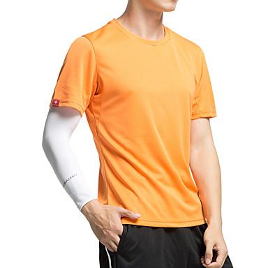 KORAMAN Homens Manga Curta Camisa para Ciclismo - Verde Tropa / Azul / Cinzento Moto Secagem Rápida, Resistente Raios Ultravioleta, Respirável Poliéster, Lycra / Com Stretch / Redutor de Suor