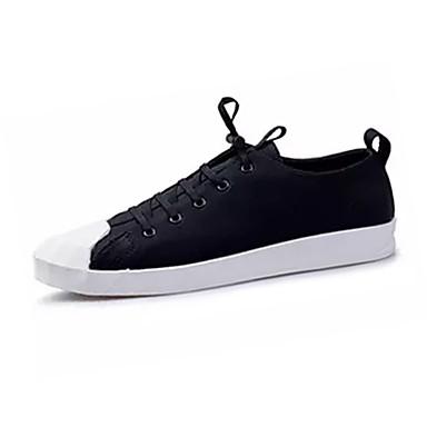 בגדי ריקוד גברים נעליים PU אביב / סתיו נוחות נעלי ספורט שחור / חום