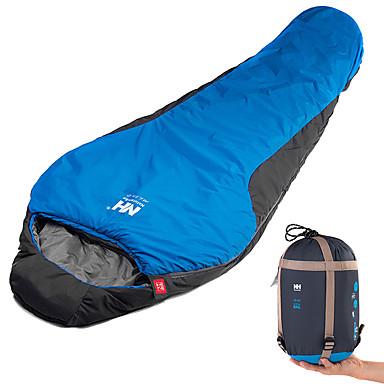 Naturehike Saco de dormir Ao ar livre Solteiro (L150 cm x C200 cm) 9 °C Tipo Múmia Algodão de seda de imitação A Prova de Vento Prova-de-Água Portátil Respirável Manter Quente Confortável para