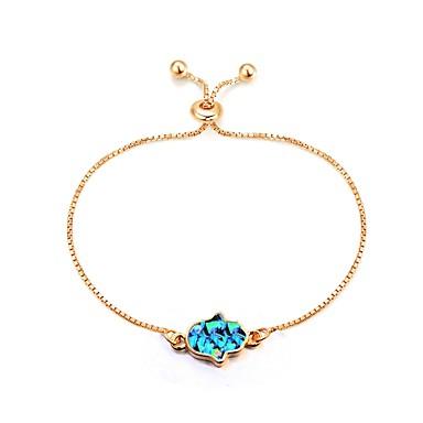 בגדי ריקוד נשים שרשרת וצמידים - קלסי, אופנתי צמידים זהב חמסה עבור יומי / משרד קריירה