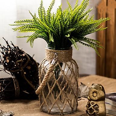 פרחים מלאכותיים 0 ענף סגנון מינימליסטי אגרטל פרחים לשולחן / אחת אגרטל