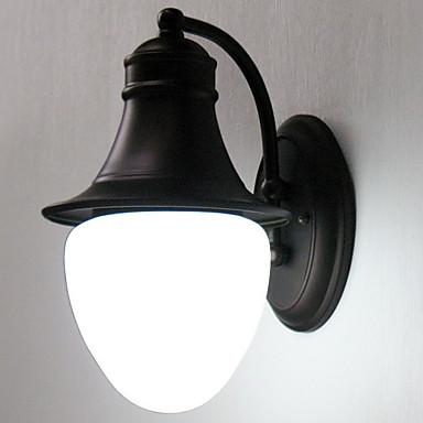 מגן עין קאנטרי מנורות קיר חדר שינה מתכת אור קיר / E27