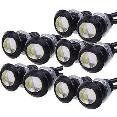 Недорогие Дневные фары-10 шт. Лампы 9W Высокомощный LED 1 Фары дневного света For Универсальный Дженерал Моторс Все года