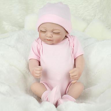 hesapli Oyuncaklar ve Oyunlar-NPKCOLLECTION NPK DOLL Yeniden Doğmuş Bebekler Bebek 12 inç Tam Vücut Silikon Silikon Vinil - canlı Tatlı El Yapımı Çocuk Kilidi Non Toxic Sevimli Kid Genç Kız Oyuncaklar Hediye / CE
