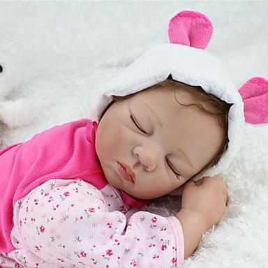 ราคาถูก Reborn Dolls-NPKCOLLECTION ตุ๊กตา NPK Reborn Dolls เด็กทารก 22 inch ซิลิโคน ไวนิล - เหมือนจริง น่ารัก ทำด้วยมือ Child Safe Non Toxic การจำลอง เด็ก เด็กผู้หญิง Toy ของขวัญ / ปฏิสัมพันธ์ระหว่างพ่อแม่และลูก / CE