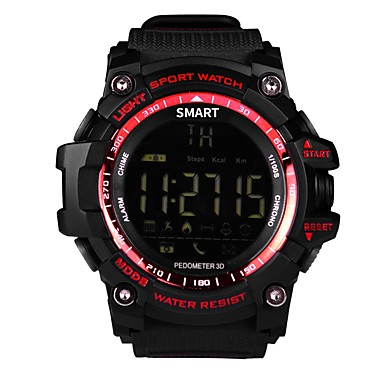 שעוני ספורט EX16 ל מוניטור קצב לב / עמיד במים / מד צעדים / חיישן דופק מד צעדים / מד פעילות / מעקב שינה / Alarm Clock / > 480