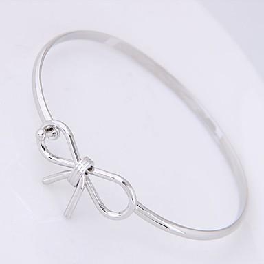 voordelige Armband-Dames Bangles Strik Dames Zoet Modieus Legering Armband sieraden Zilver Voor Dagelijks