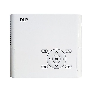 A1 DLP מקרן מיני LED מקרן 2000 lm Android 4.4 תמיכה 1080P (1920x1080) 10-300 אִינְטשׁ מסך / WXGA (1280x800)