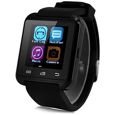 Smart Watch Kosketusnäyttö Askelmittarit Handsfree puhelut Kamera-ohjain Anti-lost Viesti-ohjain Urheilu Sleep Tracker Löydä laitteeni