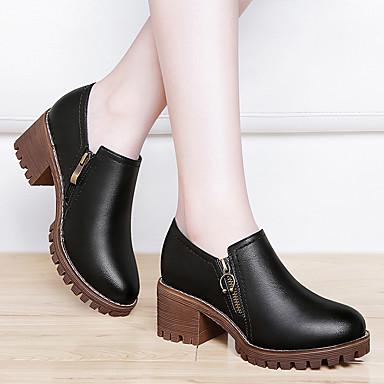 Chaussures Basique Printemps Bout Femme PU microfibre à Bottier de Talons Talon synthétique Automne 06602259 Chaussures Gladiateur Escarpin dUzzqwXx