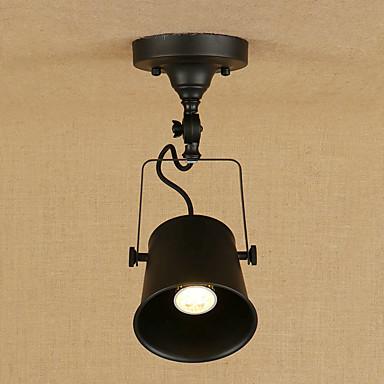 מנורות תלויות תאורה כלפי מטה גימור צבוע מתכת סגנון קטן, מגן עין 110-120V / 220-240V נורה כלולה / E26 / E27