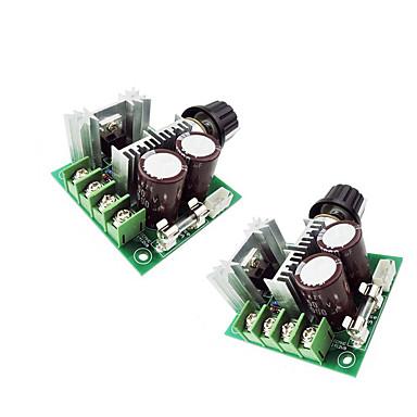 2szt 12 V Akcesoria do taśm świetlnych Przełącznik ściemniacza Aluminium do oświetlenia taśmą LED