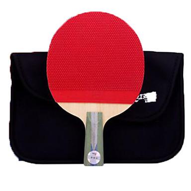 DHS® R5006 Ping Pang/מחבטי טניס שולחן עץ גוּמִי 5 כוכבים ידית קצרה פצעונים