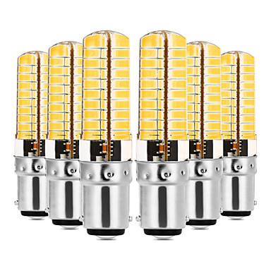 YWXLIGHT® 6pcs 7W 600-700lm E14 G9 G4 BA15D נורות שני פינים לד T 80 LED חרוזים SMD 5730 Spottivalo דקורטיבי לבן חם לבן קר 110-130V