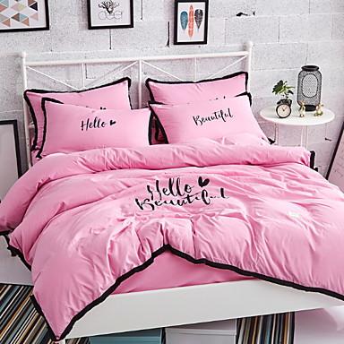 ensembles housse de couette orn brod 4 pi ces. Black Bedroom Furniture Sets. Home Design Ideas
