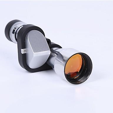 cheap Binoculars, Monoculars & Telescopes-8 X 20 mm Monocular Lenses Portable BAK7 Camping / Hiking / Caving Everyday Use Multifunction Chrome