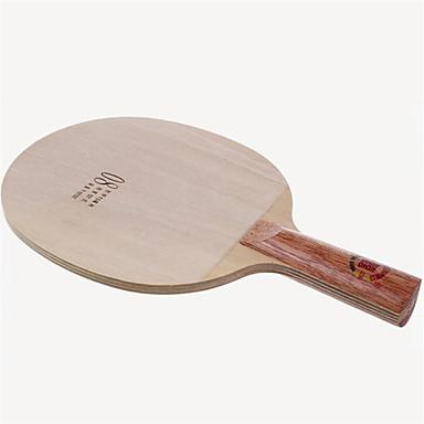 DHS® 08 FL Ping Pang/מחבטי טניס שולחן לביש עמיד עץ סיבי פחמן 1