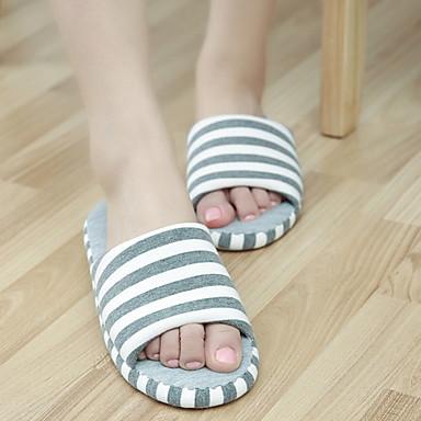 כפכפי נשים נעלי בית צורות גיאומטריות טרילין הדפס בעלי חיים