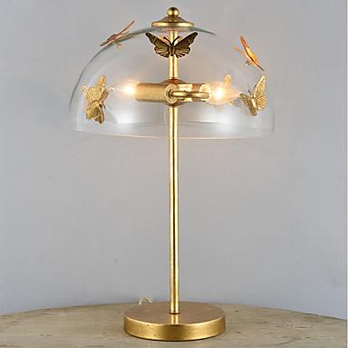 Artystyczny / Nowoczesny / współczesny Dekoracyjna Lampa stołowa Na Metal 110-120V / 220-240V