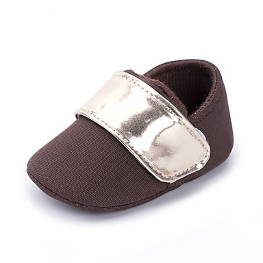בנים נעליים קנבס אביב נוחות / צעדים ראשונים / נעליים לעריסה שטוחות סקוטש ל קפה
