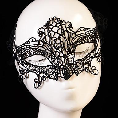 voordelige Maskers voor de feestdagen-Halloweenmaskers Hallloween figuren Halloween Accessoires Gevlochten Vezel Artistiek / Retro Gezicht Modieus Nieuw Design sexy Lady voortreffelijk comfy Klassiek Thema Vakantie Sprookjes Thema