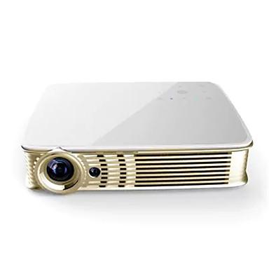 i5 DLP Mały projektor LED Projektor 500 lm Android 5.1 Wsparcie 1080p (1920x1080) 40-300 in Ekran / WXGA (1280x800)