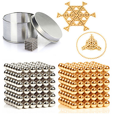 216 pcs 3mm Jucării Magnet bile magnetice / Lego / Puzzle cub Metalic / Magnet Magnetic Unisex Adulți Cadou