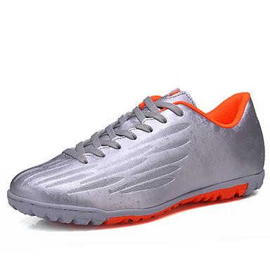 Homens sapatos Tecido Primavera / Outono Conforto Tênis Basquete Prateado / Verde / Azul