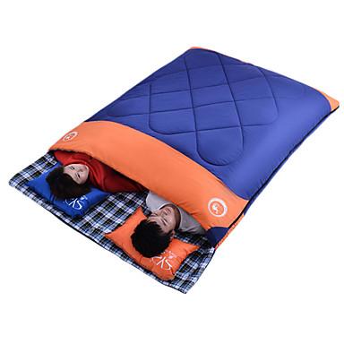 Shamocamel® Sovepose Utendørs Dobbel 5°C Dobbelbredde Hold Varm Bærbar Avtagbar Revner ikke til Camping & Fjellvandring Vår Sommer Høst